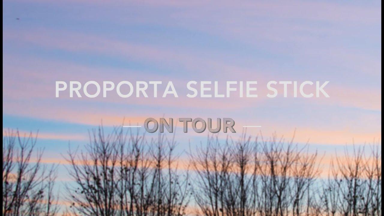 proporta 39 s selfie stick tour youtube. Black Bedroom Furniture Sets. Home Design Ideas
