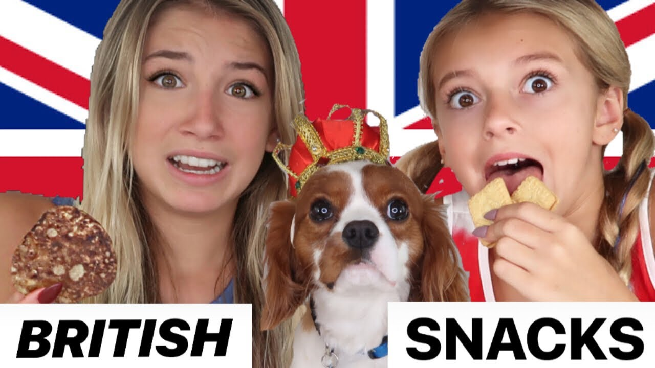 American Kids Try British Candy Taste Test Uk Snacks