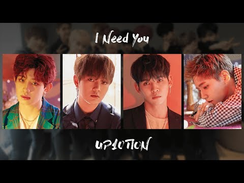 UP10TION (업텐션) - I Need You (예고 없이) [COLOR-CODED HAN/ROM/ENG LYRICS]