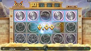 Игровой автомат Ancient Fortunes Zeus (Triple Edge Studios/Microgaming)