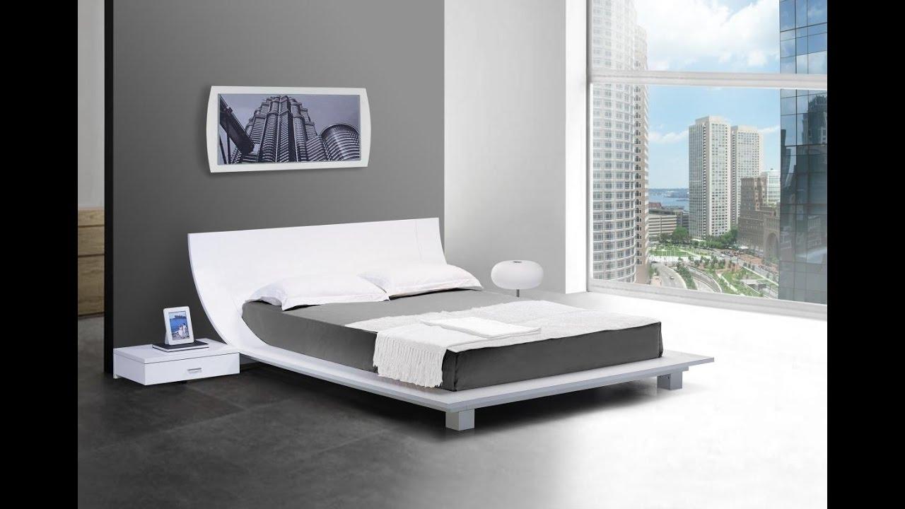 Bedroom Low Platform Bed Frame Design Ideas Youtube