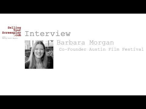 SYS 173: Austin Film Festival Co-Founder Barbara Morgan Talks About Writing Fiction Podcast Scripts