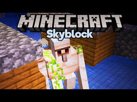 Skyblock Iron Farm! ▫ Minecraft 1.15 Skyblock (Tutorial Let's Play) [Part 13] thumbnail