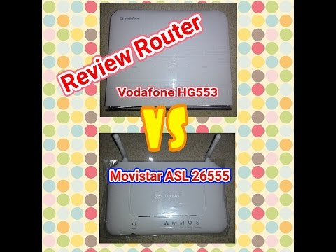 Membandingkan Router Movistar 26555 VS Vodafone HG553