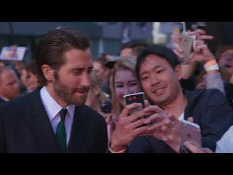 Stronger: Jake Gyllenhaal Red Carpet Premiere Arrivals TIFF 2017