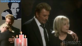 Hommage à Michel Berger,Johnny Hallyday et France Gall
