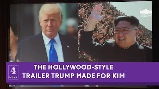 One Destiny: The video Trump showed Kim before their summit