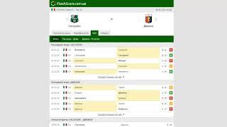 Прогноз на матч Сассуоло Дженоа 06 01 2021 команды на разных полюсах