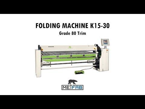 Folding machine Cidan K15 - Folding Grade 80 Trim
