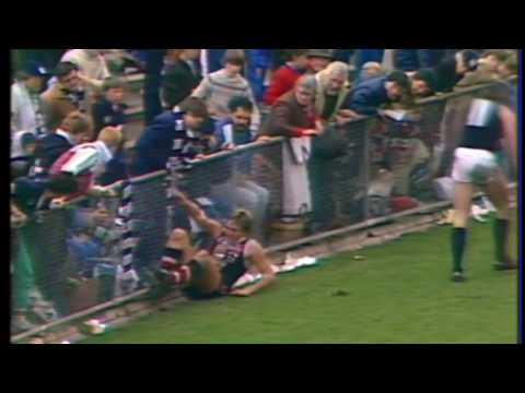 Tony Lockett highlights round 16 1984