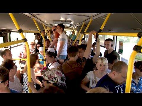 """Эх, прокачу!: В """"час пик"""" автобусы в Волгограде превращаются в душегубки"""