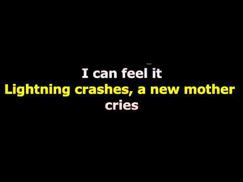 Throwing Copper - Lightning crashes Lyrics