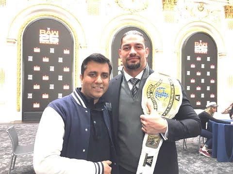 WWE Roman Reigns 'The Powerhouse' Interview on Sports Tak