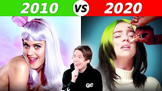 POPULAR Songs in 2010 vs 2020