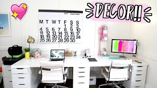 New Office Decor!! AlishaMarieVlogs