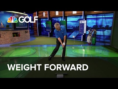 Weight Forward – School of Golf | Golf Channel