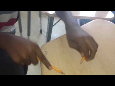 Storytelling - Pencil Tapping Style student ft. Nolan  & Me at  Neal Middle school in Durham, NC