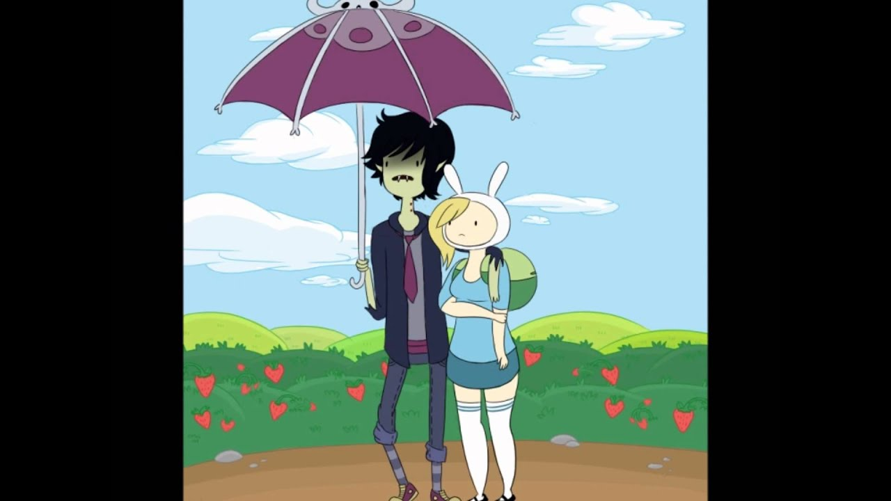 adventure time marshall lee and fionna slideshow youtube