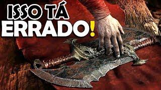 Download Video KRATOS com LÂMINAS DO CAOS? Isso tá ERRADO!! - GOD OF WAR MP3 3GP MP4