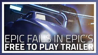 Epic Fails in Epic's Free to Play Rocket League Cinematic Trailer