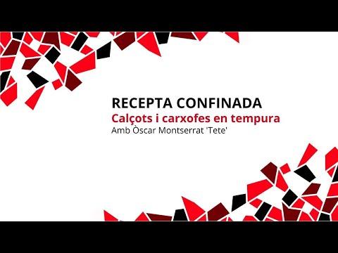 Castellers de Barcelona Confinats | Recepta: Calçots i carxofes en tempura amb Òscar Montserrat