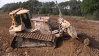 cat d6n lgp with gps grading dirt
