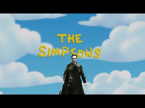 The Matrix References in The Simpsons