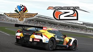 rFactor 2 ★ Chevrolet Corvette C7R @ Indianapolis Motor Speedway GP 2014