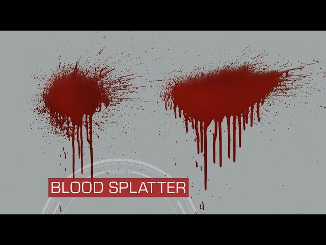 Blood Splatter VFX Stock Footage Now Available | ActionVFX