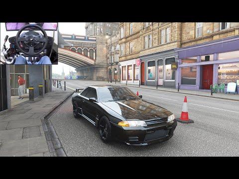 600HP Nissan Skyline R32 GTR  Forza Horizon 4   Thrustmaster T300RS