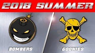 2018 Summer Season | Bombers vs Goonies
