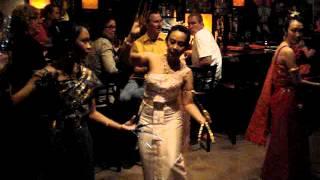 Fon Leb Thai Nail Dance at Buddha Thai Bistro  2012