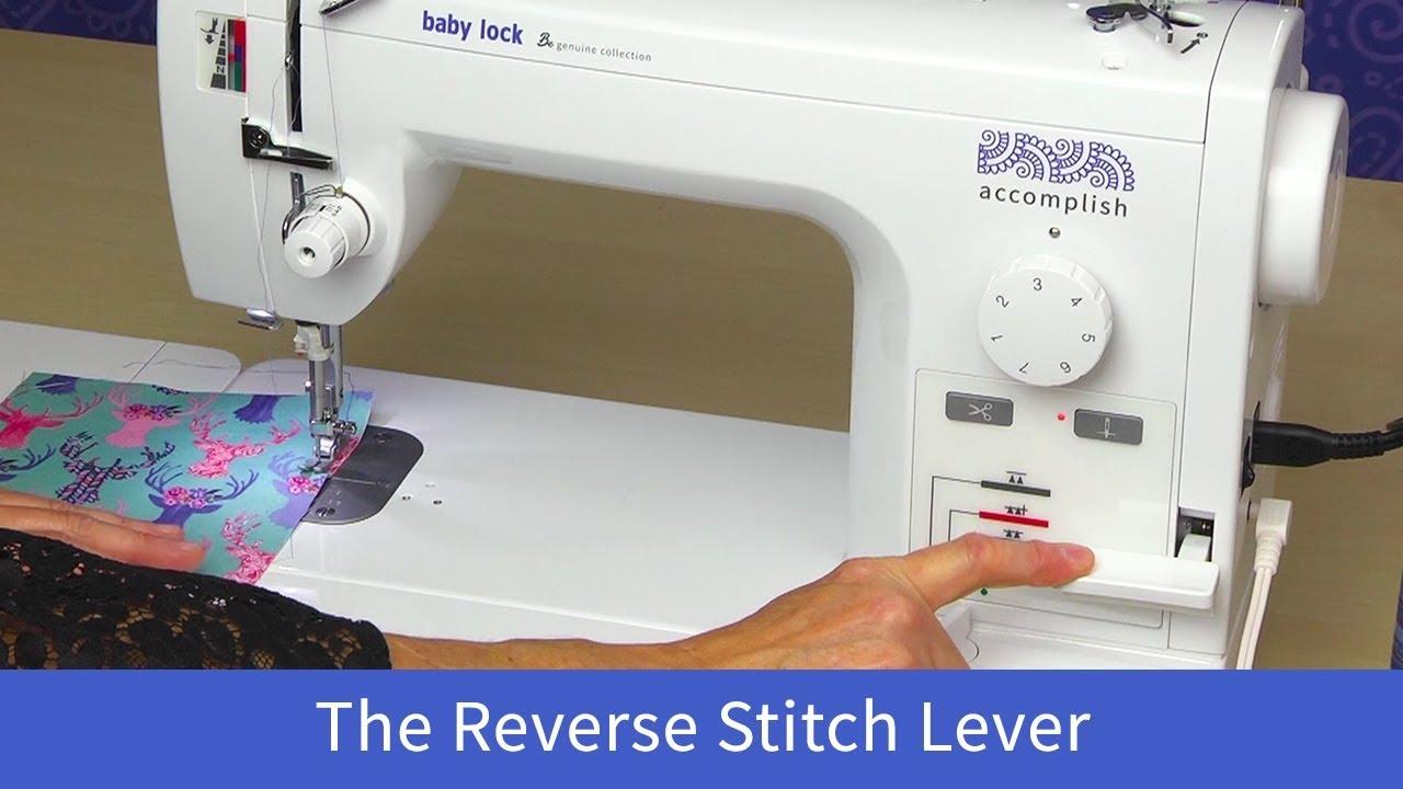 Accomplish - Sewing Machine - Baby Lock Products