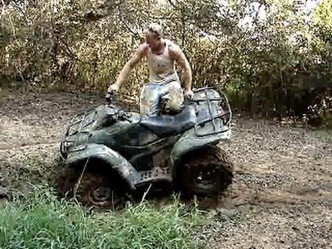 Beautiful 2007 HONDA RANCHER 420 FLIP/FAIL   MUDDIN U0026 STUCK At Rabbit Creek   YouTube