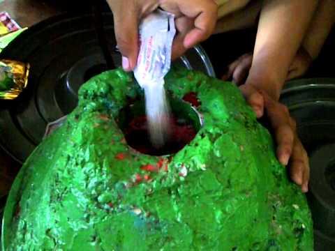 gunung meletus - YouTube