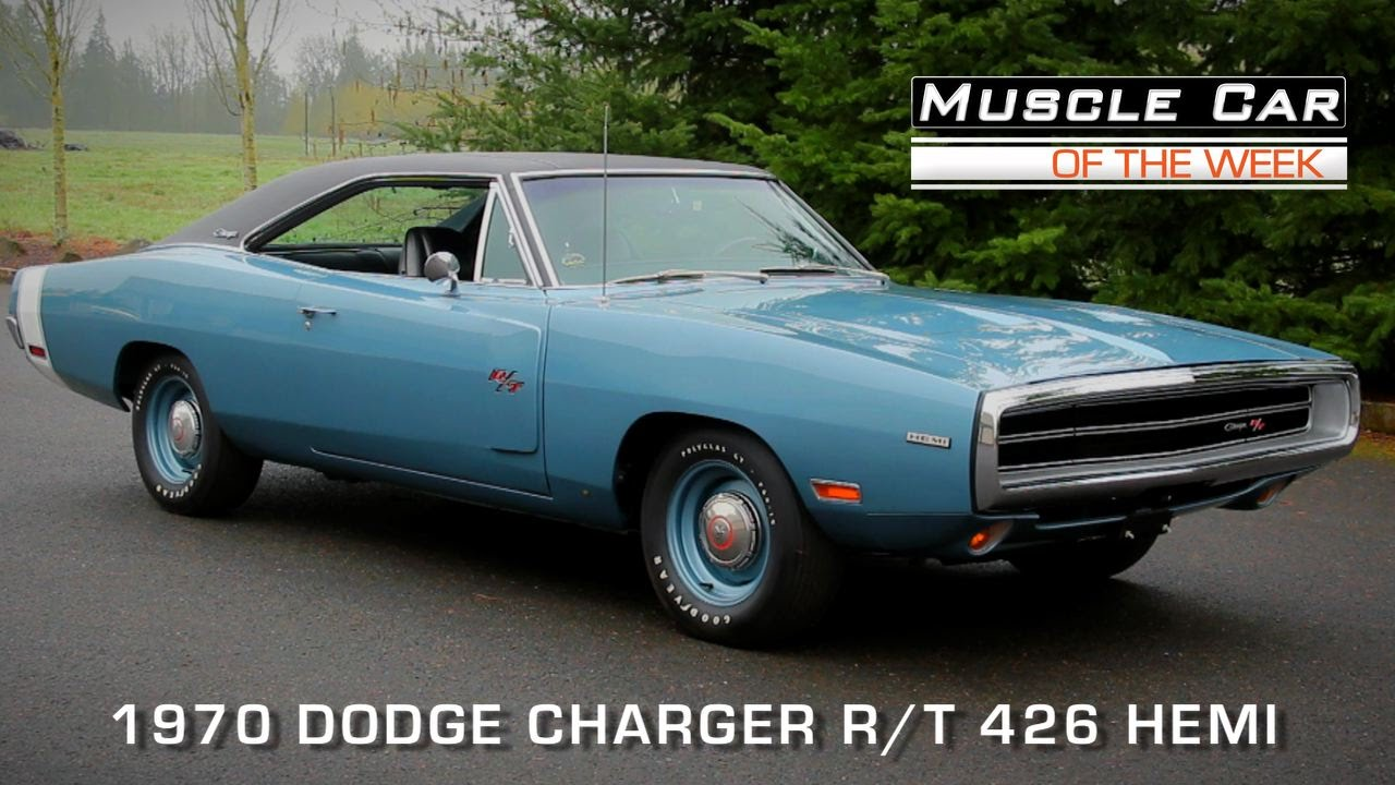 Muscle Car Of The Week Video Episode Dodge Charger R T