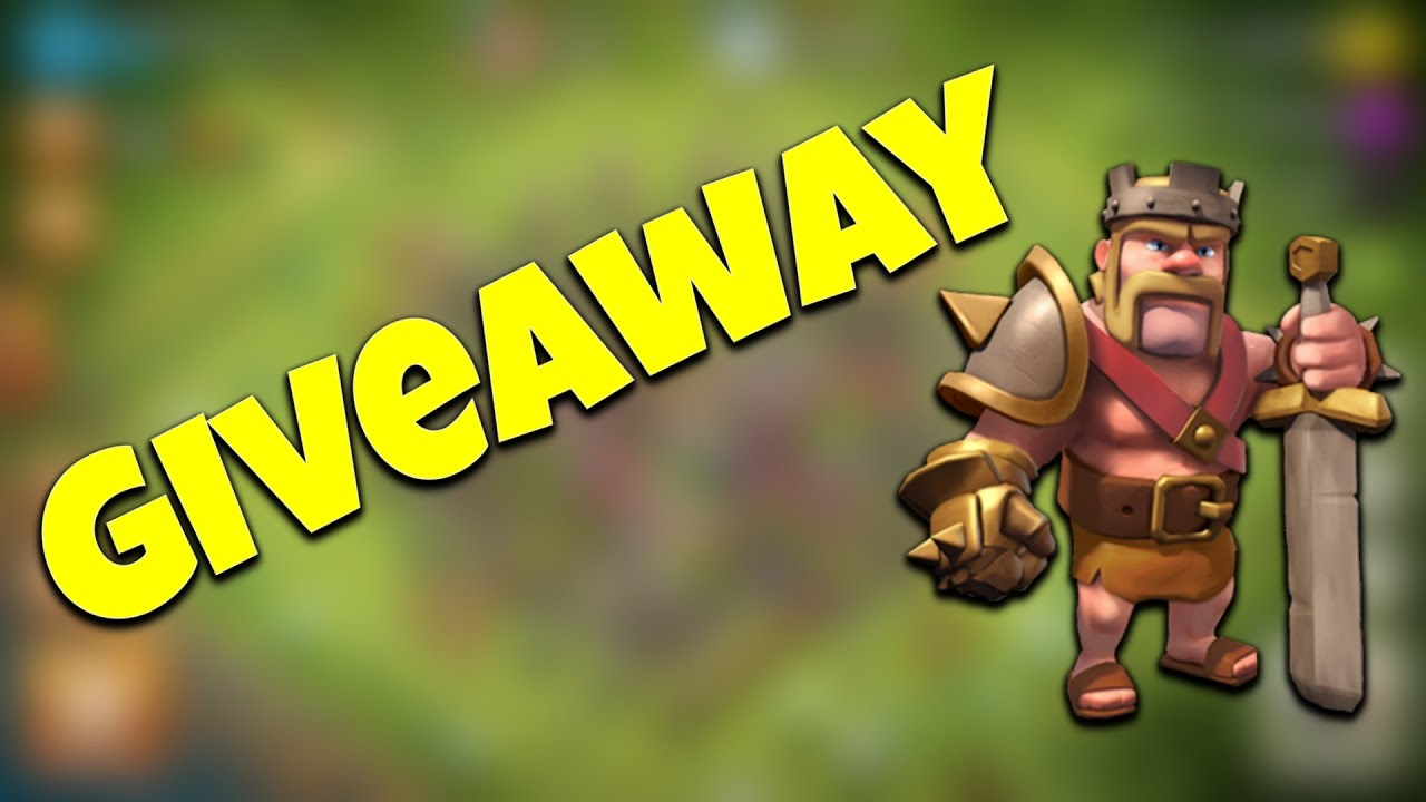 clash of clans account giveaway clash of clans account giveaway youtube 3442