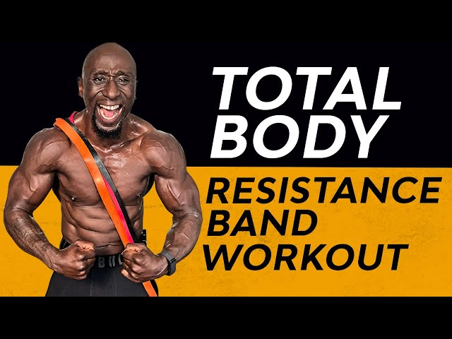 28 Minute Total Body Resistance Band Metabolic Workout - Full Body HIIT