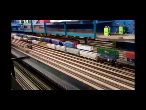St. James Round House Model Railroad Club: HO-Scale Layout. (Under Construction)