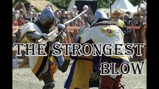 Сильнейший удар одноручным оружием.  Урок 22Исторический Средневековый бой - Основы