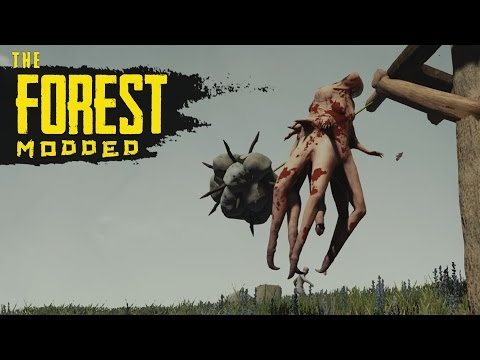 OUT OF NOWHERE! The Forest Modded S2 Episode 55