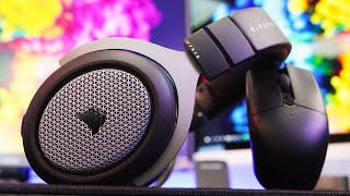 Corsair HS75 XB Wireless - Xbox One Gaming Headset Review! (w/ Mic Test!) [4K]