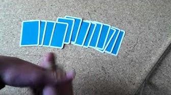 Kartentrick: Karten in richtiger Reihenfolge sortieren