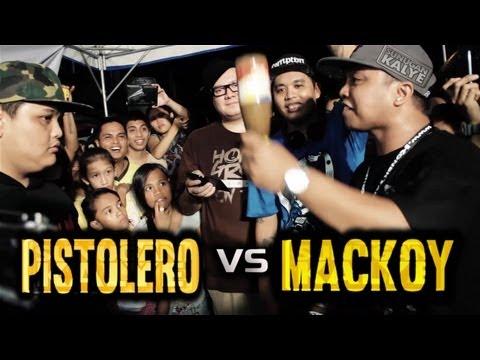 SUNUGAN KALYE -  PISTOLERO vs MACKOY @ Camp Crame