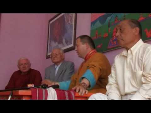 Telo Tulku Rinpoche in Roerich Museum in Mongolia. Part 1