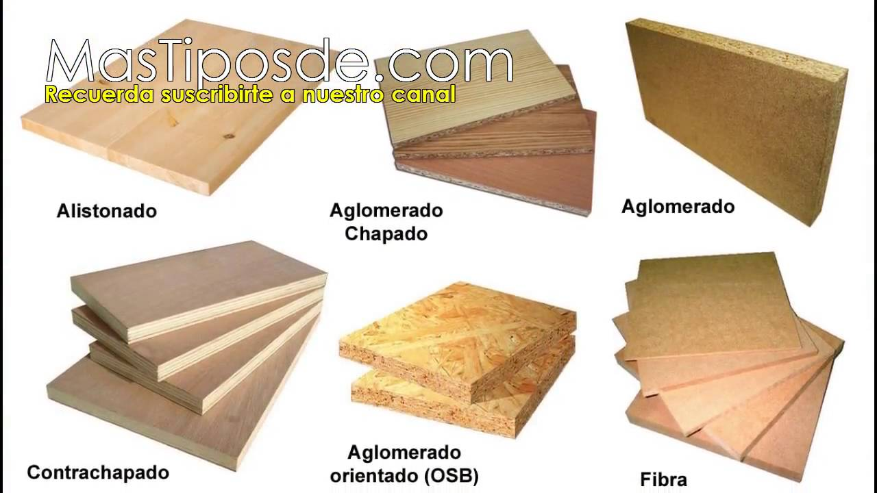 Tipos de madera madera natural artificial finas duras - Maderas laminadas tipos ...
