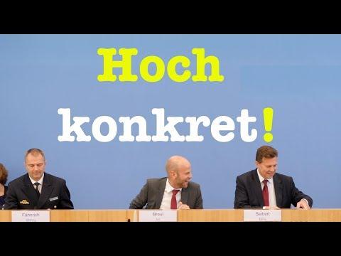 17. August 2018 - Bundespressekonferenz - RegPK