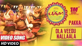 Ola Veedu Nallaala Full Video Song | Pakka Video Songs | Vikram Prabhu, Nikki Galrani, Bindu Madhavi