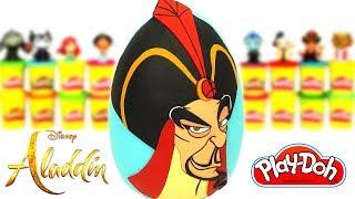Ovo Surpresa Gigante do Jafar de Aladdin em Português Brasil de Massinha Play Doh