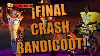 🔴 EL FINAL DE CRASH... POR AHORA | CRASH BANDICOOT | GAMEPLAYSMIX